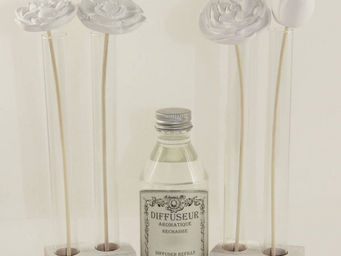 Le Pere Pelletier - diffuseur bouquet de fleurs senteur feuilles de th - Diffuseur De Parfum Par Capillarité
