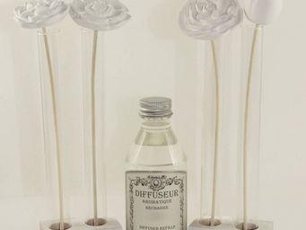 Le Pere Pelletier - diffuseur bouquet de fleurs senteur feuilles de th - Diffuseur De Parfum Par Capillarit�
