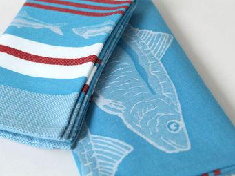 Jean Vier - arnaga sardine de st jean de luz - Torchon