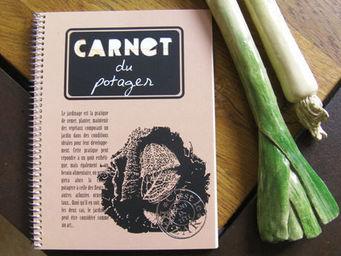 DANS TETE - carnet du potager - Carnet De Notes