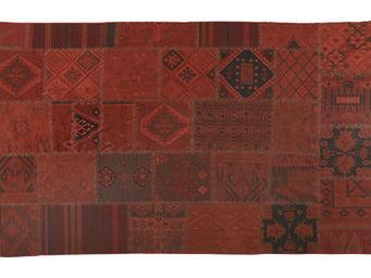 Athezza - tapis kilim rouge 180x270cm - Kilim