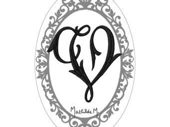 Mathilde M - savon alphabet monogramme v - Savon