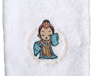 SIRETEX - SENSEI - gant 16x22cm brodé 500gr/m² geisha - Gant De Toilette