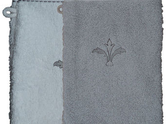 SIRETEX - SENSEI - gant eponge brodé pompadour 550gr/m² coton - Gant De Toilette