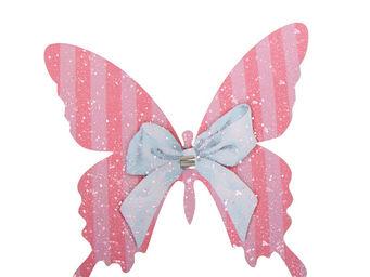 Orval Creations - papillon � pince p�ch� mignon - D�coration De Table