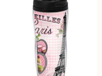 Orval Creations - travel mug merveilles de paris - Bouteille Isotherme