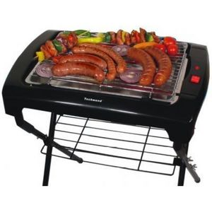 TECHWOOD - barbecue sur pied 2000w - Barbecue Électrique