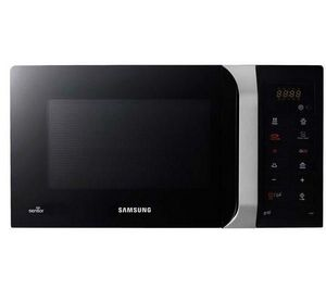 Samsung - four micro-ondes avec grill gs109f-1s - noir / arg - Micro Ondes