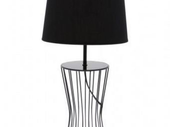 Up Trade - lampe pied metal fil - Lampe De Chevet