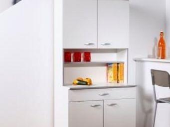 Up Trade - buffet de cuisine blanc optimal - Meuble De Cuisine