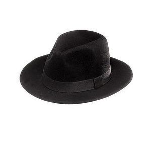 WHITE LABEL - chapeau borsalino mixte feutre de laine galon asso - Panama