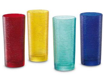 Greggio - set of 4 mixed tumblers art. 19880130 - Verre � Cocktail