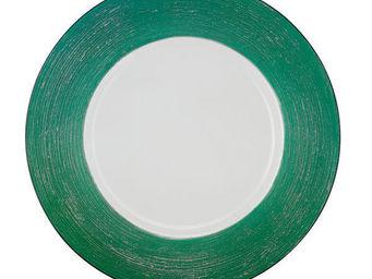 Greggio - green lay plate art 19880174 - Dessous D'assiette