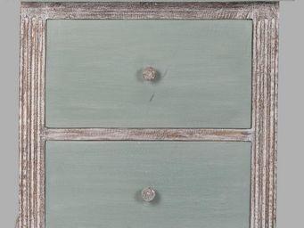 BLANC D'IVOIRE - venise gm turquoise - Table De Chevet