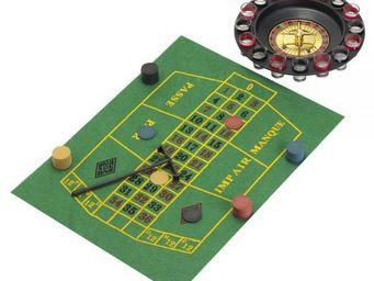 La Chaise Longue - jeu de roulette 'drinking game' - Coffret De Jeux