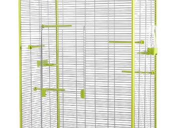 ZOLUX - voli�re laia verte et grise 79x67,5x167cm - Cage � Oiseaux