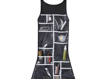 Umbra - rangement salle de bain petite robe noire 46,4x91, - Porte Balayette Wc