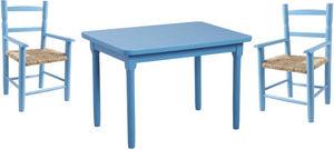 Aubry-Gaspard - salon enfant 1 table 2 fauteuils - Table Enfant