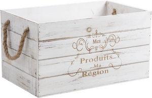 Aubry-Gaspard - caisse en bois mes produits ma r�gion - Caisse De Rangement