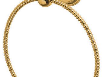 Cristal Et Bronze - perl� - Anneau Porte Serviette