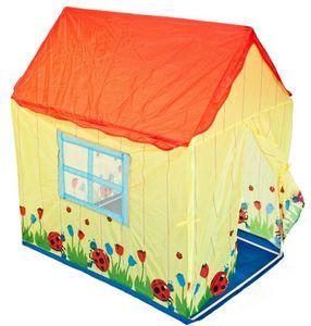 Traditional Garden Games - tente enfant maison coccinelles - Maison De Jardin Enfant