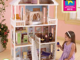 KidKraft - maison de poup�es savannah en bois 86x34x130cm - Maison De Poup�e