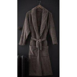 TODAY - peignoir cosy bronze taille l - Peignoir De Bain