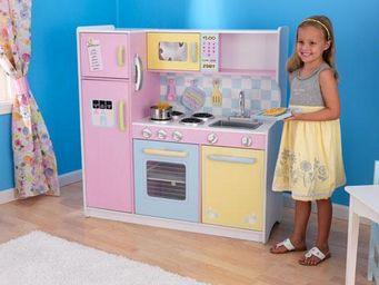 KidKraft - cuisine pour enfant pastel en bois 107x41x109cm - Jouets De Poup�e