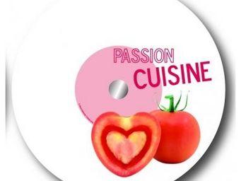 Cm - plateau tournant passion - couleur - rouge - Plateau Tournant