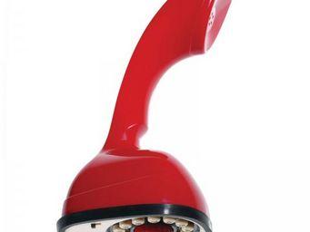 WHITE LABEL - t�l�phone r�tro scandiphone rouge - T�l�phone D�coratif
