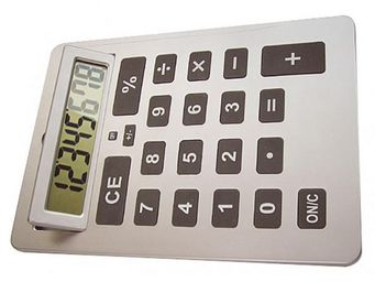 INVOTIS - calculatrice avec écran inclinable - Calculatrice