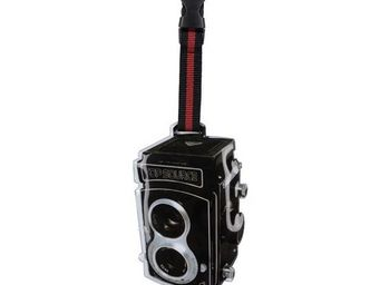 La Chaise Longue - etiquette à bagage appareil photo rétro - Etiquette De Bagage
