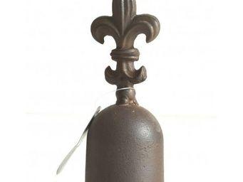 L'HERITIER DU TEMPS - clochette de table fleur de lys - Clochette