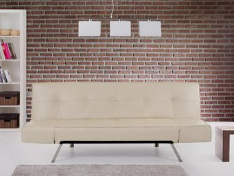 BELIANI - sofa en cuir - Canap� 3 Places