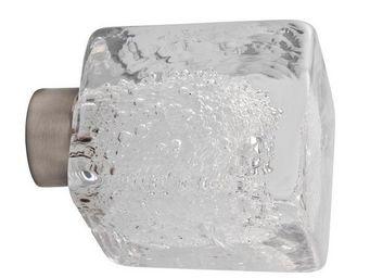 Les Verreries De Brehat - cube microbulles - Bouton De Porte