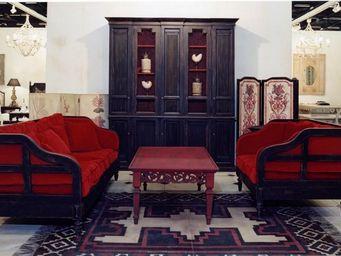 PROVENCE ET FILS - fauteuil farniente /structure h�tre massif / - Canap� 3 Places