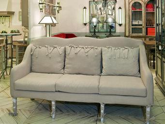 PROVENCE ET FILS - canape boudoir dehoussable - long 200 *prof 70* h - Canap� 3 Places
