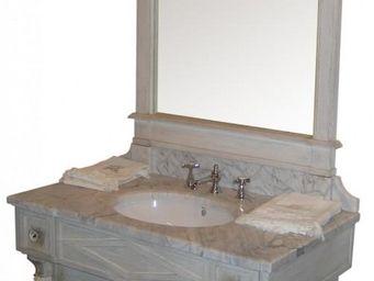 PROVENCE ET FILS - thermes simple vasque - meuble 2 portes & trumeau - Meuble Vasque