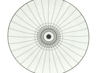 CFOC Compagnie Francaise de l'Orient et de la Chine - ombrelle noir - Assiette Plate