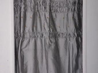 Coquecigrues - paire de rideaux balancelle bleu - Rideaux Prêts À Poser