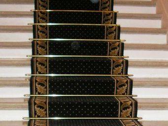 Moquettes A3C CARPETS - tapis pour escalier pindots petits points 1227 - Tapis D'escalier