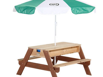 AXI - table de jeu sable et eau en c�dre - Table Pique Nique