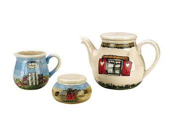 Interior's - coffret accessoires thé chaume - Service À Thé