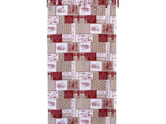 Interior's - rideau façon patchwork - Rideaux À Lacettes