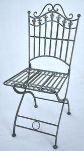 Demeure et Jardin - chaise de la collection vert de gris - Chaise De Jardin