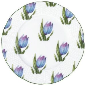 Raynaud - villandry fleurs - Assiette À Dessert