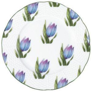 Raynaud - villandry fleurs - Assiette � Dessert