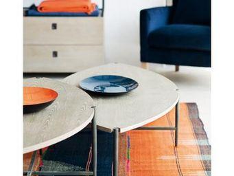 BLANC D'IVOIRE -  - Table Basse Forme Originale