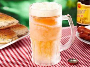 WHITE LABEL - la chope bière réfrigérante xxl 650 ml transparent - Chope