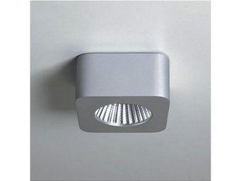 ASTRO LIGHTING - plafonnier samos square led aluminium anodis� - Spot Led